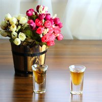 Stocked antique loving cup - 2017 glass small glass white wine cups ml thick bottom flat cup g high white material glass KTY1504