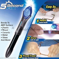 b cure - With Retail Packaging Second Fix Liquid Plastic Welding Pen UV Light Repair Cure Tool AU Liquid Glass Welding Glue L309 B