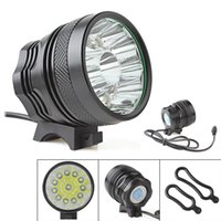 Wholesale 18000LM Waterproof x CREE XM L T6 LED Super Bright Camping Fishing Bicycle Cycling Flashing Light Lamp BLL_018