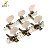 achat en gros de guitar tuning keys wholesale-Vente en gros - Meilleur prix !! Hot Selling High Quality 2Pcs / set Acoustic Classical Guitar Tuners Tuning Keys Steel Pegs Machine Heads Set Nouveau