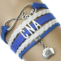 american register - Pieces High Quality Infinity Love Nurse Bracelet Registered Nurse Wrap Bracelet RN LPN LVN CNA BSN Best Gift for Nurse