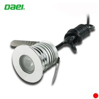 Wholesale W LED underground light IP67 Buried recessed floor outdoor lamp DC12V V led recessed lights inground uplight