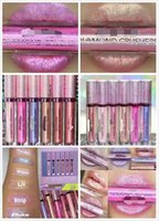Wholesale Women Fashion Make Up Diamond Shining Gilt Bright Lip Gloss Iridescent Lipstick Iridescent Lip Topper that gets you