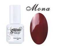 best brand polishes - Mona Brand Best Sellers Gel Nail Polishes Long Lasting Lacquers Colors ml Health Nail Gel Polish UV LED Lamp Curing Pick