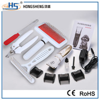 Wholesale Dog Grooming Clippers Kit Professional Pet Electric Hair Clippers Trimmer with Comb for Dogs Cats with Prie