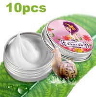 acne scars cream - Snail Cream Face Skin Care Treatment Reduce Scars Acne Pimples Moisturizing Whitening Anti Wrinkle Aging Cream AFY