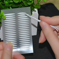 Wholesale Stripe Olive Makeup Eyeliner Double Eyelid Tape Stickers for Making The Eyes Bigger with Eye Shadow