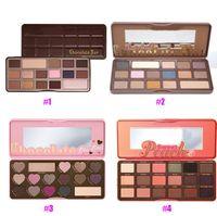 280g bar retail - Hot Fashion generations Brand Makeup Palette Sweet Peach Eye Shadow Chocolate Bar Eyeshadow retail package