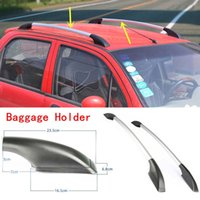 Wholesale 2PCS Silver Auto Luggage carrier HOLDER Car Top Roof Rack For Chevrolet Aveo DIY