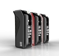 Wholesale 2016 latest Arrival Electronic Cigarette Kit W TC Box Mod with big screen OLED Support Ni200 Ti SS316