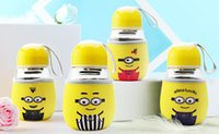 Wholesale Hot creative children cups student cups wedding gift cups penguin glass