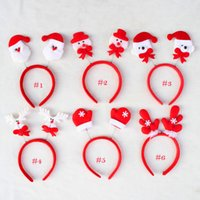 bear headband - Christmas ear headband and bear Christmas elderly snowman deer Children hair accessories