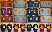arizona football jersey - 2017 Arizona State Sun Devils College Football Jerseys Pat Tillman Mike Bercovici DJ Foster Will Sutton University Football Jersey