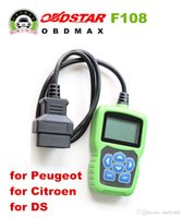For Peugeot add programmes - OBDSTAR F108 PSA PIN CODE Reading and Key Programming Tool for Peugeot Citroen DS F108 Newly Add K LINE
