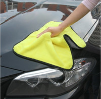Wholesale Microfiber Towel Car Cleaning Towel cm Bicolour Multifunctional Car Cleaning Wash Cloth Quick dry