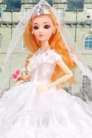 Wholesale Eye Barbie dress wedding skirt big dress princess dress bridal gown girl girl gifts