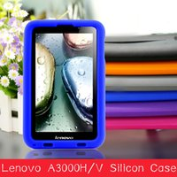Wholesale MingShore Silicone Rugged Tablet Case for For Lenovo A7 A3000 H V inch tablet case