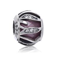 Regalo de Navidad Encanto Radiance Charms Beads Se adapta a la cadena de serpiente Pulsera 925 Sterling Silver Charms Beads para la joyería de marcado