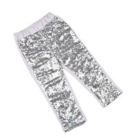 Girl baby pants boots - soft sequins cotton Fall girls hot pink sequin pants most popular baby gilr fashion toddle sequins trousers