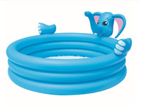Wholesale The elephant three ring children bathing pool