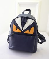 Wholesale Cute image monster backpack fashion ladys daily girls backpack oem image bag backpack