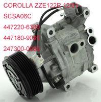 Wholesale air conditioning aircon compressor Toyota Corolla ZZE122R SCSA06C