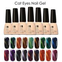 Wholesale FOCALLURE D Cat Eyes LED UV Soak off Gel Lacquer Varnish UV Nail Gel Polish ML UV GEL For Nail Art