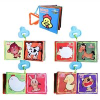 animal activities kids - 1pc Intelligence Development Cloth Cognition Book Learning Activity Toys for Kids Baby Farm Animal