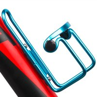 Wholesale Mountain Bicycle Double Beads Aluminum Sports Water Bottle Holder Cage Drinks