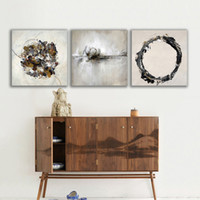 Wholesale 3 Pieces Wall Art Set Modern Picture Abstract Oil Painting Wall Decor Canvas Pictures For Living Room