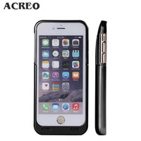 Wholesale 3500mAh iPhone Battery Case Extended Backup Power Bank External Protective Charger Case with Kick Stand and LED Indicator for iPhone s