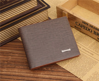 Wholesale Imitation tree pattern foreign trade fashion business men wallet JINBAOLAI Wallet Coffee color fashion atmosphere simple and easy business C