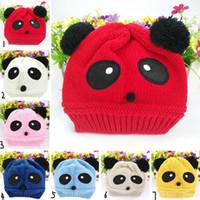 baby crochet beanie pattern free - Fashion Baby Girls Boys Children s Caps Beanies Stretchy Hats Warm Winter Woolen Lovely Panda Pattern