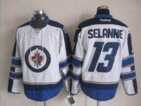 50e Stade 2017 Série Premier Winnipeg Jets Andrew Ladd # 16 Kyle Wellwood # 13 Evander Kane # 9 Alexander Burmistrov # 8 Maillots de hockey