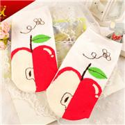 Wholesale Bright Color comfortable Girl Socks with cuty style