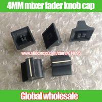 Wholesale mixer fader knob cap hole MM Gray CD fader cap