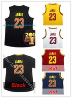 lebron james jersey - 100 Stitched Men s LeBron James Youth Jersey Embroidery Gold Blue White Black Jersey