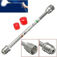 Wholesale 12Inch Airless Paint Spray Gun High Pressure No Gas Spraying Machine Extension Pole For Spraying Accessories