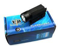 Wholesale Tactical LED Flashlight Mode LM Pistol Handgun Torch Light Weather proof Handheld Flashlights