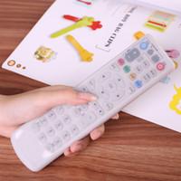 Vente en gros 1PC TPU Silicone vidéo TV Air conditionné télécommande couverture de protection contre la poussière cas couvrent étanche poussière sacs protecteur sac