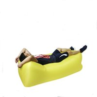 Wholesale New Sale Outdoor Camping kg Fast Air Inflatable Sleeping Sofa Bag Hiking Chair Lazy Lay Bag