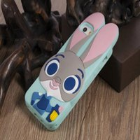 3D Cartoon Cute Crazy Mobile Phone Silicone pour iPhone 5, Back Shell Couverture en caoutchouc pour iPhone 6 6 plus