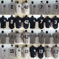 Wholesale MLB New York NY Yankees jerseys FlexBase baseball Jerseys JETER RIVERA ELLSBURY RUTH MATTINGLY MUNSON MANTLE freeship