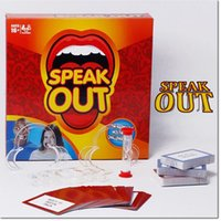 Wholesale 2016 newest funny toys speak out speakout words stop tools toys with sand clock for years old people dhl free