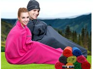 Wholesale Travel broaden fat people health hotel dirty sleeping bags adult outdoor insulation ultra thin portable thickening fleece the sleeping bag