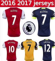 Wholesale New RD Soccer Jersey Arsenales rd Jersey Alexis Giroud Ramsey Third Football Shirt Thai Quality Shirt