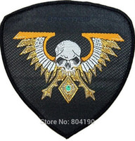 animated marine - Warhammer k Imperialis Space Marine Legion Campaign Animated Movie TV Series Costume Woven Emblem applique iron on patch