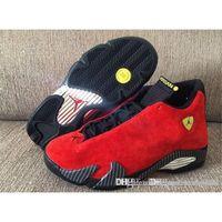 Wholesale Jordan Top Quality Air Retro Retro Ferrari Chllng Jordans Retros s Ferrari Chilling Red With Box