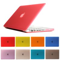 Wholesale For Macbook Air Pro Retina full series Laptop Case New Hard Crystal Full Protective Laptop Sleeve Cover
