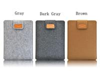 Wholesale New Portable Soft Laptop Bag Felt Ultrabook Sleeve Case for Macbook quot quot quot quot Air Ultrabook Laptop Notebook Tablet PC